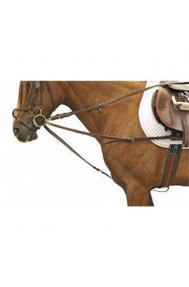 Draw reins -Triangle stainless steel-