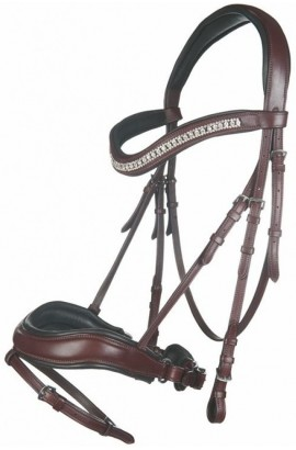 Anatomic bridle -Cavalli Puri- brown