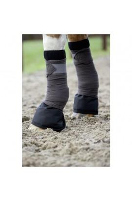 Bandage pad -terry cloth- black