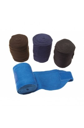Acrylic bandages -best on horse- brown