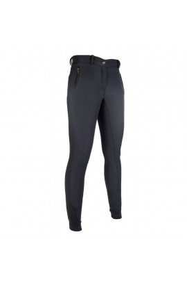breeches with silicone full seat -south dakota black-