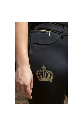 winter breeches with silicone seat -softshell pompöös-