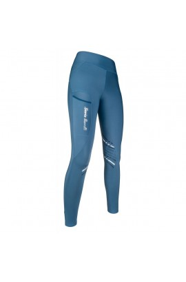 bi-elastic riding leggings -elemento ocean blue-