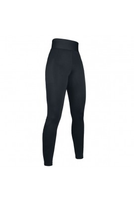 Riding leggings with silicone seat -Highwaist Style- black