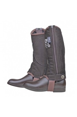 half chaps -kids brown-