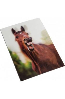 3d postcard -yawning-