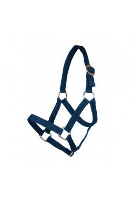 nylon halter -mini shetty deep blue-