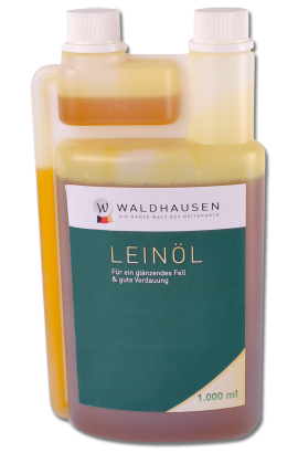 Linseed Oil - 1L -  for a shiny coat and good digestion