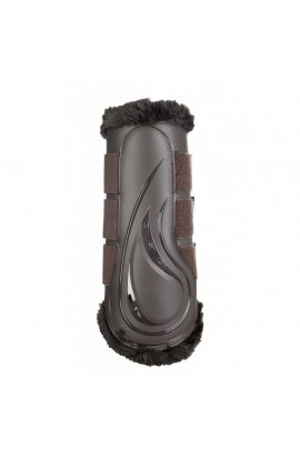 dressage protection boots -comfort brown-