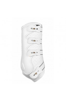 Dressage protection boots -dance- white