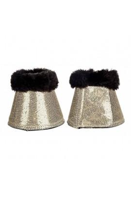 overreach boots -glitter gold-
