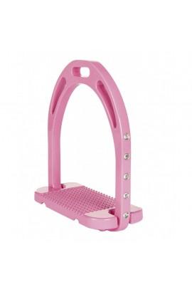 Stirrups -Glitter- pink