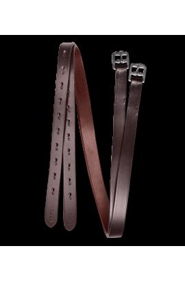 Stirrup leathers -star brown-