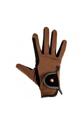 kids riding gloves -nubuk look-