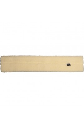 Girth sleeve -Faux Wool- nature