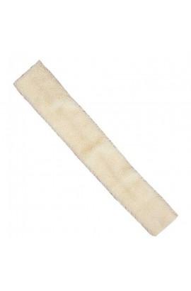 girth sleeve -faux fur nature-