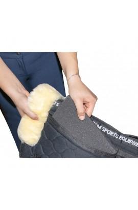 correctiv saddle pad -correction lambswool-
