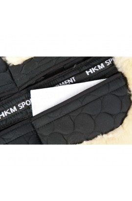 correctiv saddle pad -lambswool-