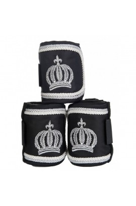fleece bandages -pompöös silverline-