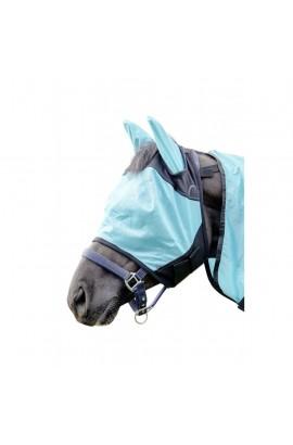 anti-fly mask -aqua-