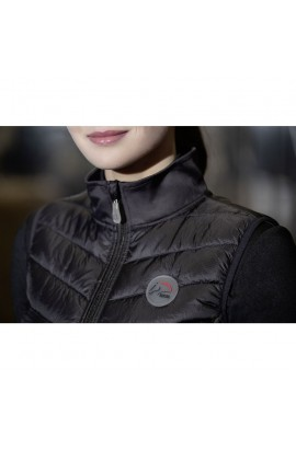 combined thin riding vest -basel-style-anthracite