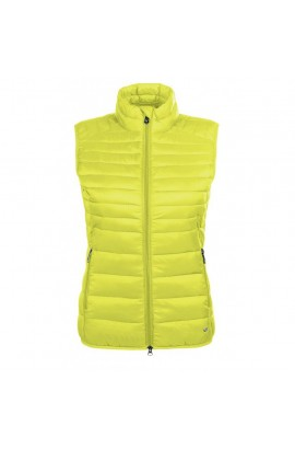 !Quilted vest -Lena- yellow