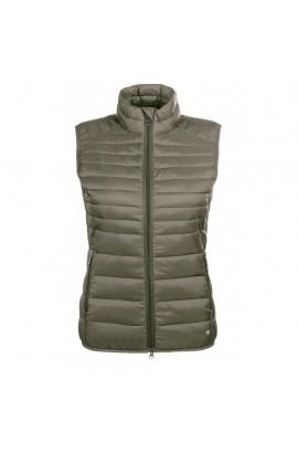 !Quilted vest -Lena- olive green