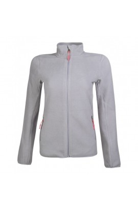 fleece jacket -anna- stone grey