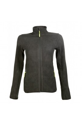 fleece jacket -anna- hunting green