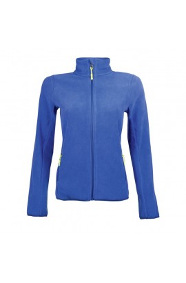 fleece jacket -anna- royal blue
