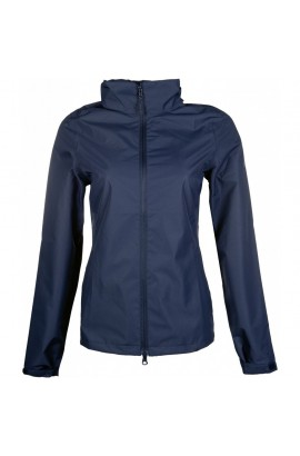 !Rain jacket -Rainy Day- deep blue