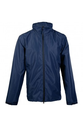 !Men's rain jacket -Rainy Day- blue