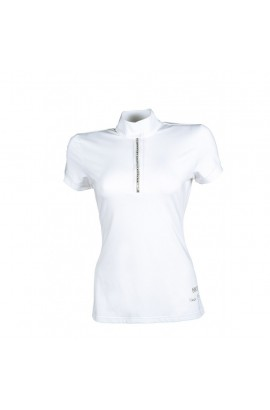 competition shirt -crystal white-