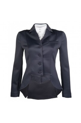dressage competition jacket -venezia black-