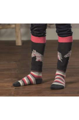 kids riding socks -julia-