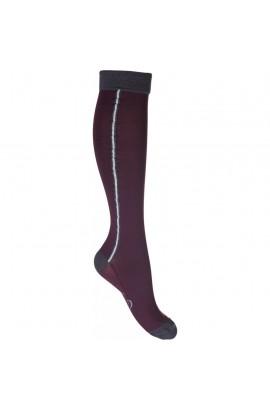 Riding socks -odello- bordeaux