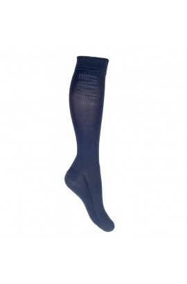 !Riding socks -Silicone- deep blue