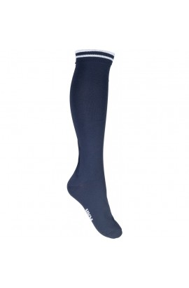 !Riding socks -lurex- deep blue