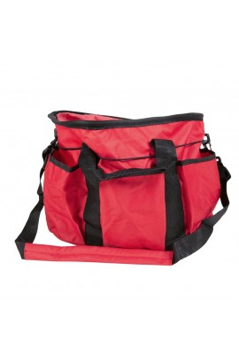 grooming bag -xl red-