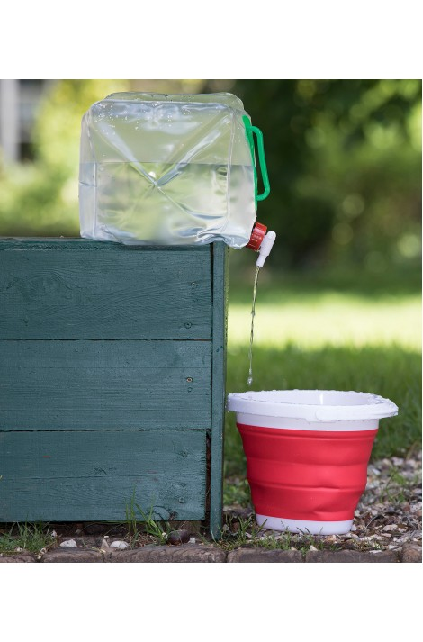 10 l collapsible water container