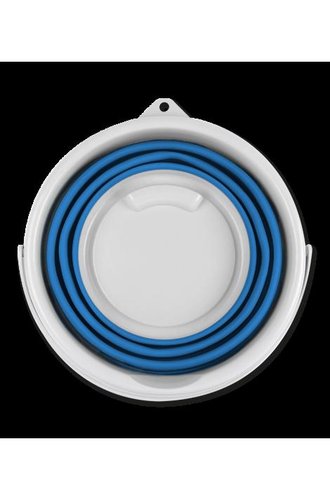 10 l foldable bucket -azure blue-