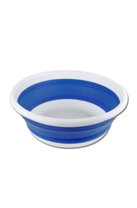 6 l foldable bowl -azure blue-