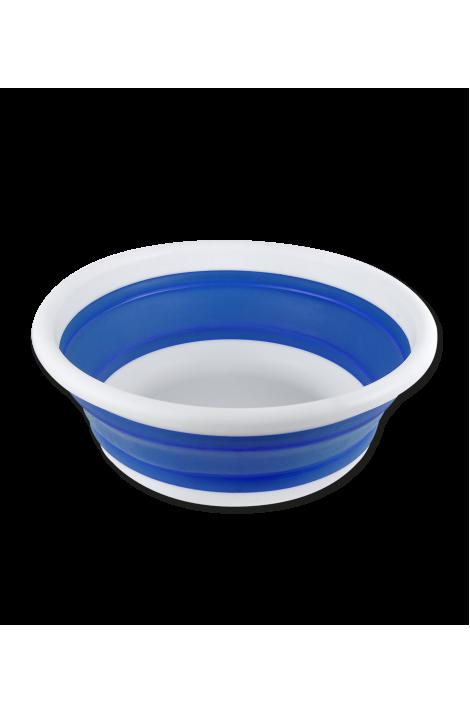 6 l foldable bowl -azure blue-