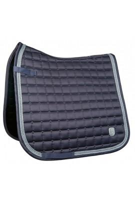 Cavallino Marino saddle cloth -mondiale- blue-grey