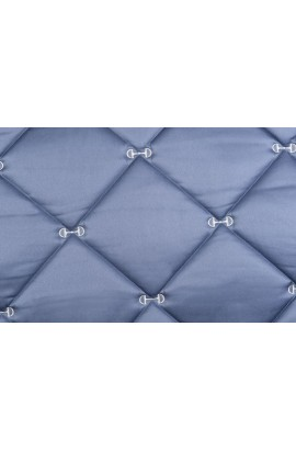 !!Saddle Cloth -Sole Mio Beauty- middle blue