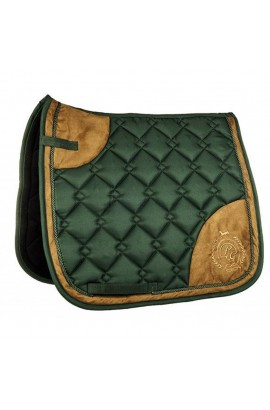 Saddle cloth -Champagne- deep green