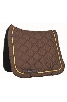 dressage saddle cloth -gently brown-