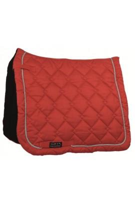dressage saddle cloth -gently red-
