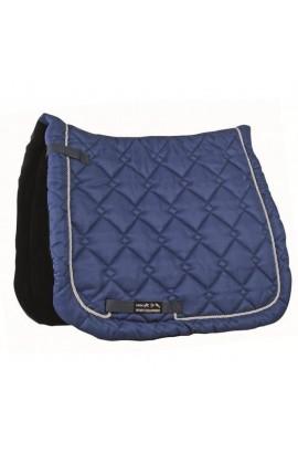dressage saddle cloth -gently smokey blue-