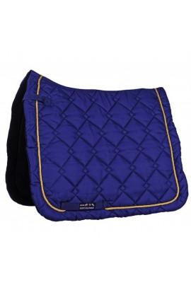 dressage saddle cloth -gently deep blue-